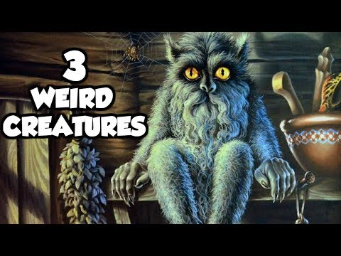 3 of the Weirdest Creatures in Slavic Mythology & Folklore