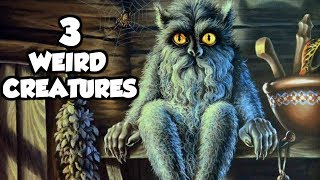 3 of the Weirdest Creatures in Slavic Mythology & Folklore