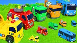 KÜÇÜK Otobüs TAYO oyuncak - Excavator Toys for Kids