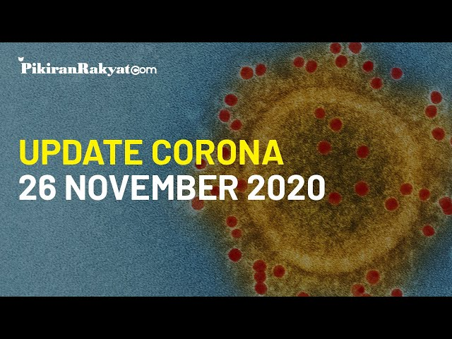 BREAKING NEWS: Update Corona Covid-19 di Indonesia per Kamis, 26 November 2020, +4.917 Kasus Positif