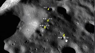 話題騒然 月にUFOがグーグルアースに写ってる。