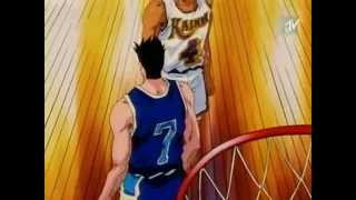 Slam Dunk - Sendoh vs Maki (Anime)