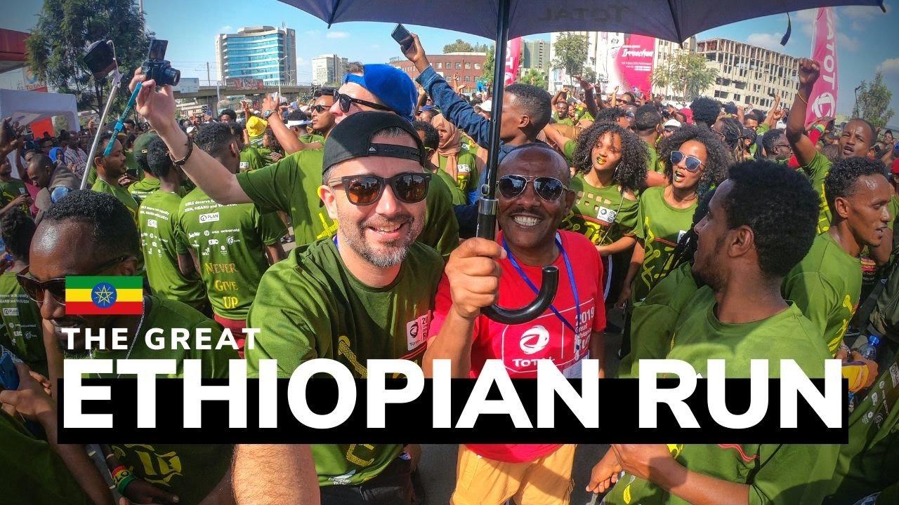 TRAVEL TO ETHIOPIA || The Great Ethiopian Run (or carnival!) 2019