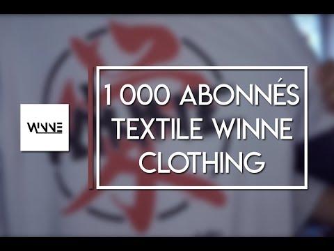 1 000  abonnés ! NOUVEAU TEXTILE WINNE