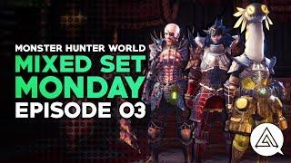 Mixed Set Monday #03 | Vampire Gunlance, 100% Affinity Dual Blades & Aggressive Hunting Horn