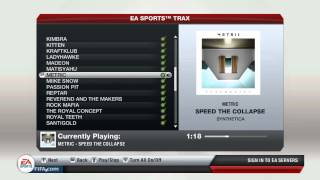 Metric - Speed The Collapse - FIFA 13 Soundtrack