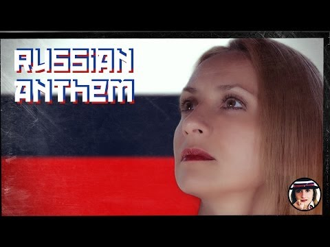 Russian Anthem with Karaoke & English, Italian, Russian Lyrics