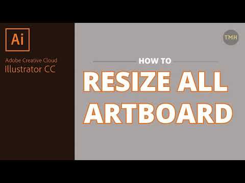 How to change all artboard size in Adobe Illustrator CC