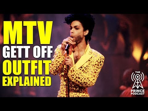 PRINCE: MTV Gett Off Outfit Explained