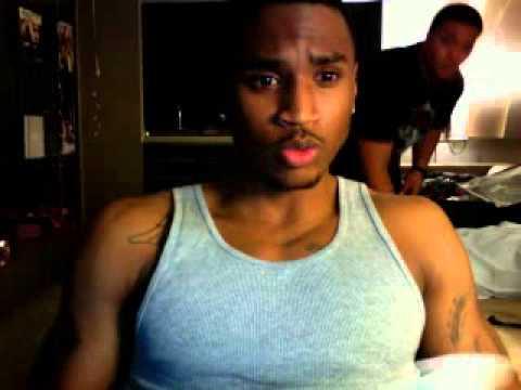 Trey Songz Counting money on Ustream - YouTube