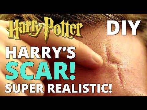 DIY Harry Potter's Scar - REALISTIC!