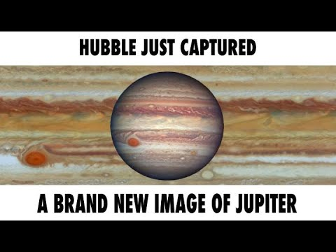 Hubble Image Gives Close-Up Look at Jupiter's Turbulent Atmosphere
