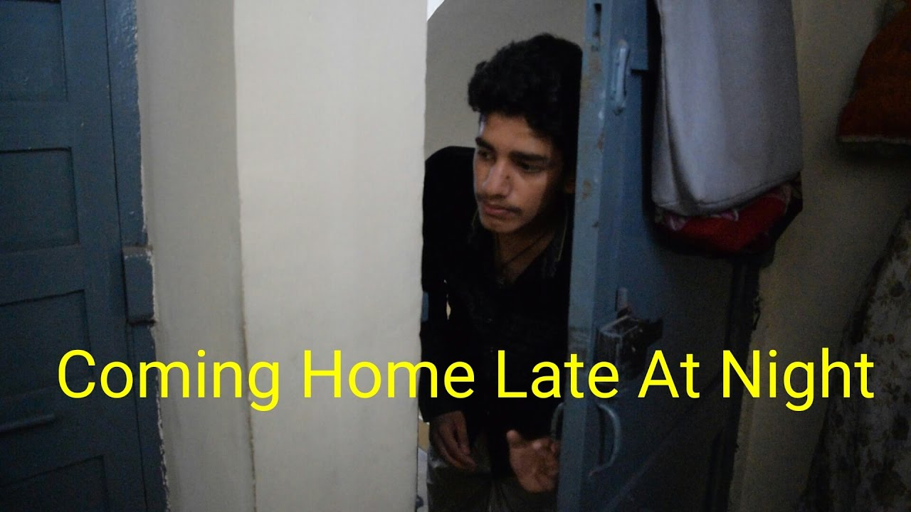 Coming Home Late At Night Anh Youtube