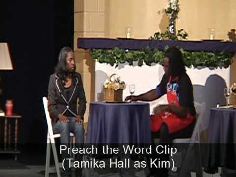 Acting Clip: Tamika In Preach the Word!