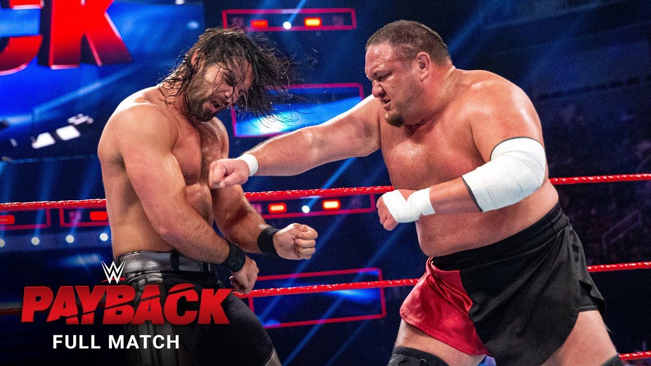 FULL MATCH - Seth Rollins vs. Samoa Joe: WWE Payback 2017
