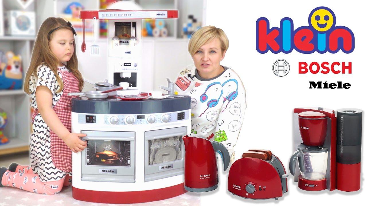 Kuchnie I Akcesoria Od Gotowania Dla Dzieci Klein Youtube