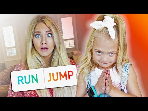 We let 5 year old Everleigh control her pregnant moms life for the day...