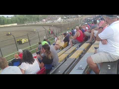 Creek County Speedway USRA Modifieds B Feature 7/21/19