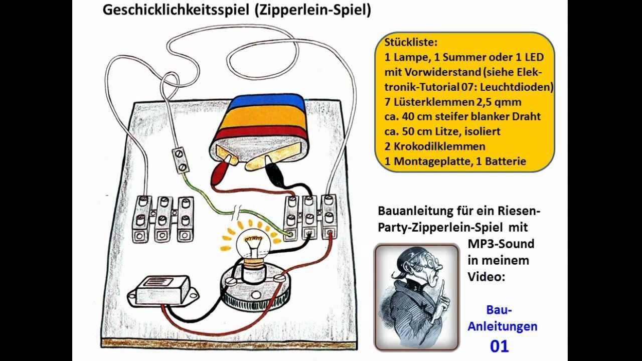 ELEKTRONIK-TUTORIAL 03: Stromkreis, Reihenschaltung ...