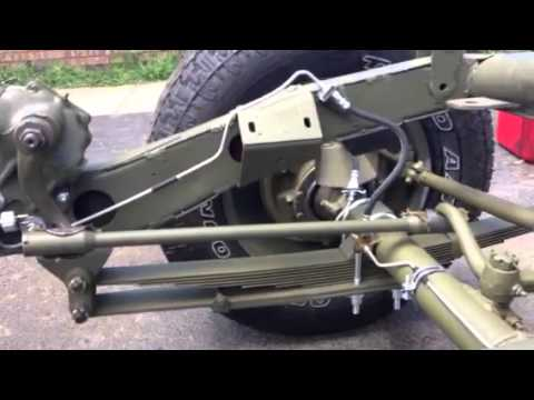 MB    CJ2A    Steering differences  YouTube