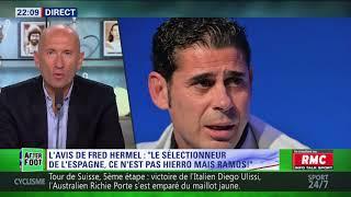 After Foot du mercredi 13/06 - Partie 1/6 - L'avis de Fred Hermel sur le nouveau coach de l'Espagne