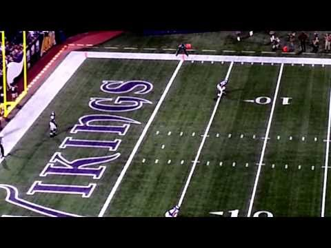 Cordarrelle Patterson 1st Touch as a Viking