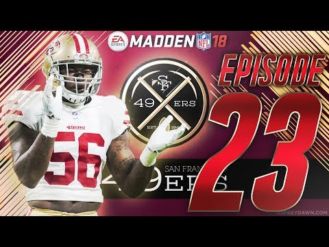 The Dontae Buchanan Era | Madden 18 San Francisco 49ers Connected Franchise Ep. 23