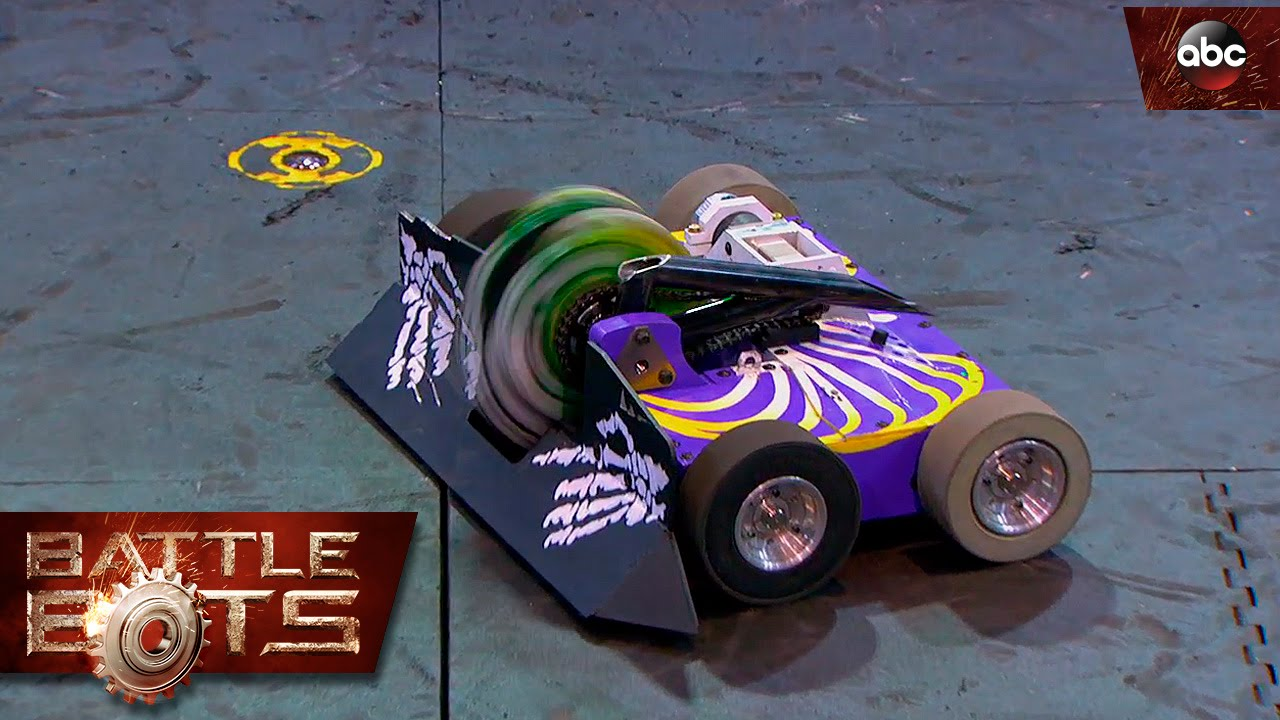 rotator vs witch doctor battlebots youtube