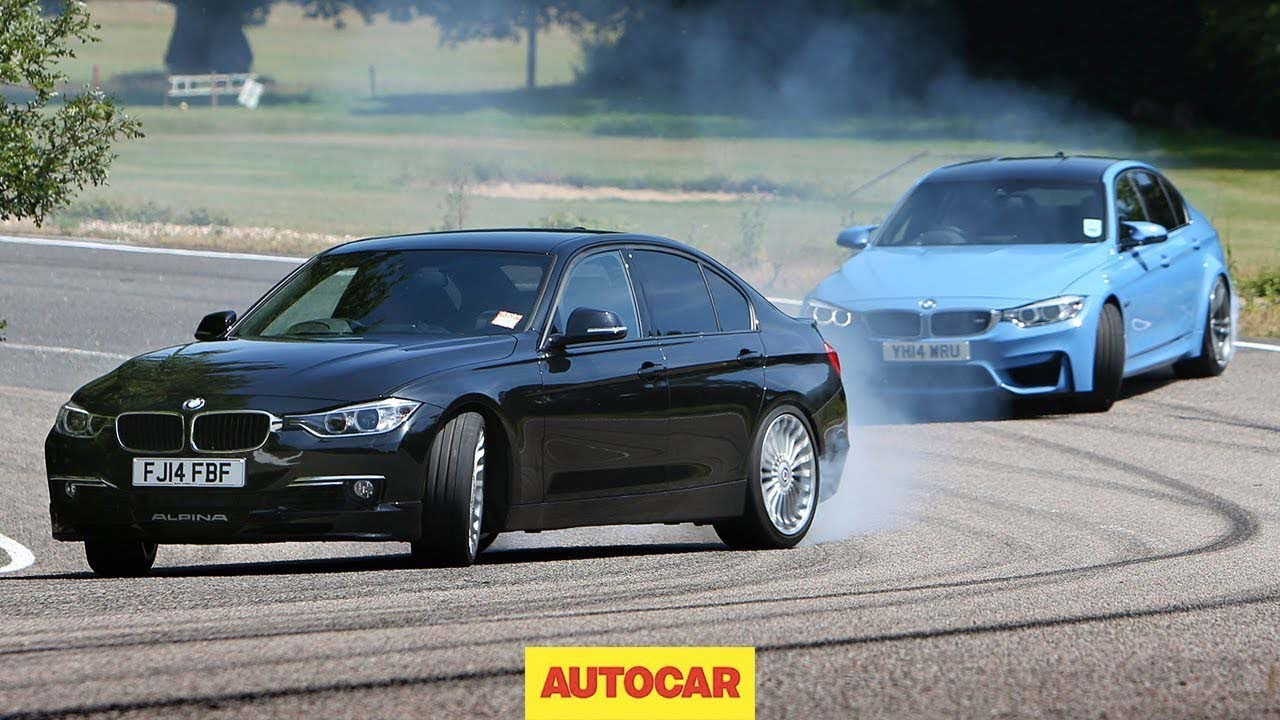 Petrol Bmw M3 Vs Diesel Alpina D3 Fast Saloon Showdown