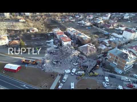 turkey:-drone-footage-captures-aftermath-of-elazig's-6.8-magnitude-quake