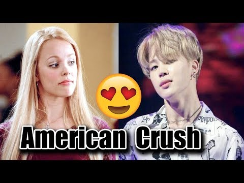 BTS CRUSHES ON AMERICAN ACTRESSES  + Jungkook's mystery crush revealed?!