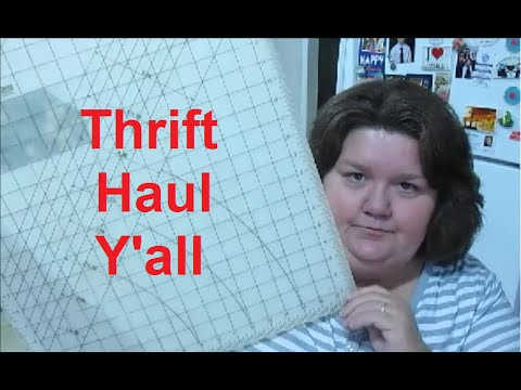 Thrift haul y all youtube