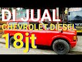 Di Jual Chevrolet Luv Diesel Tahun 1981    Mobil Bekas Kebumen