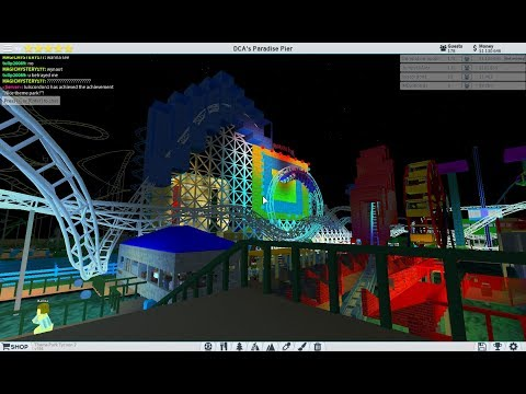 ROBLOX Theme Park Tycoon 2: Disney California Adventure Paradise Pier Recreation 2011 - 2018