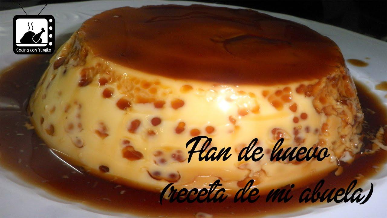 - Flan Recetas