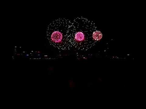 Australia Day Skyworks Perth  2013 - City Of Perth - (HD)