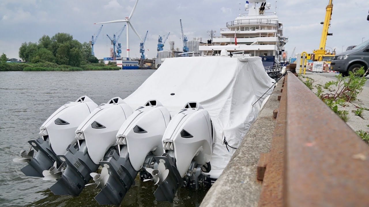 4k Mega Explorer Yacht Ulysses Walk Along Project U116