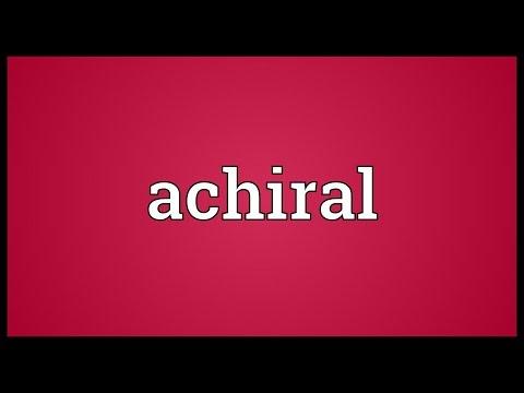 Header of achiral