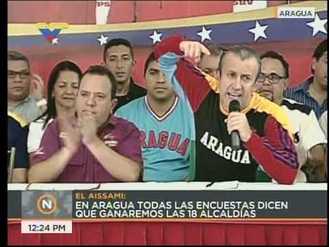El Aissami: Maduro será el candidato presidencial en 2018