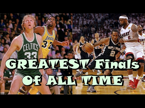 Top 10 GREATEST NBA Finals of ALL TIME