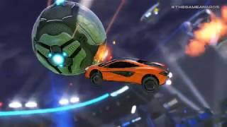 Rocket League - Mclaren 570S Car Pack - Game Awards 2018 Trailer