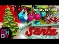 3 Christmas Decor Trends for 2017 🎄  christmas tree decorations 😍 decorate with me