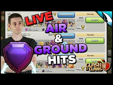 *LAST LEGEND ATTACKS* Master Both Air & Ground Now! | Clash Of Clans