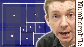 Squared Squares - Numberphile thumbnail
