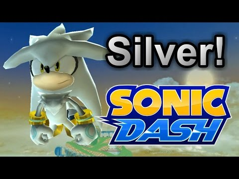 Unlocking New Character SILVER! - Sonic Dash (Mobile/PC Game) #2