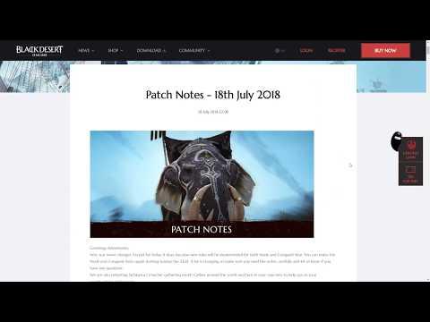 Black Desert Patch Notes for 18.7.18 Patch: Node War Changes