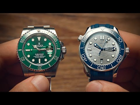 Watchfinder & Co. Explains Why the Omega Seamaster Trumps the Rolex Submariner