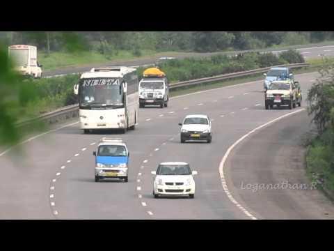 Neeta Mercedes Benz Volvo Bus Express Speed in Expressway