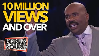 OVER 10MILLION VIEWS CLUB! Viral Family Feud Videos with Steve Harvey