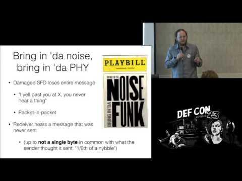 DEF CON 23 - Wireless Village - Travis Goodspeed, Sergey Bratus - PSK31 Modulation Polyglots